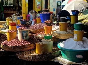 Dambwa Market, Goods on Sale