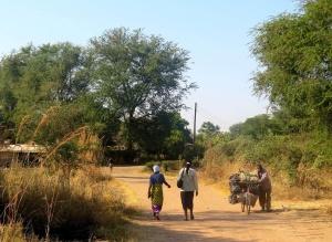 Pedestrian traffic in Maramba