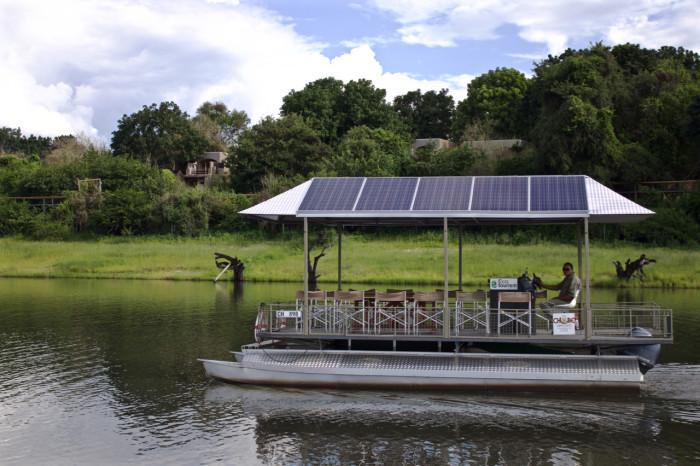 The Chobe Solar Safari Boat