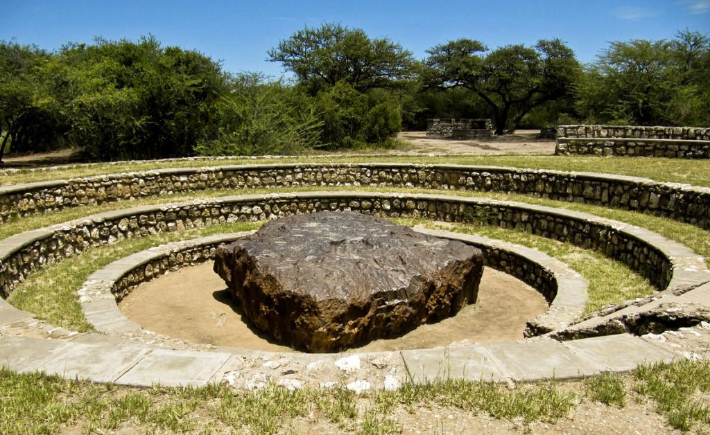 Hoba meteorite Namibia