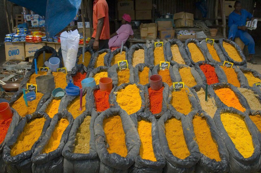 Spice market Mozambique