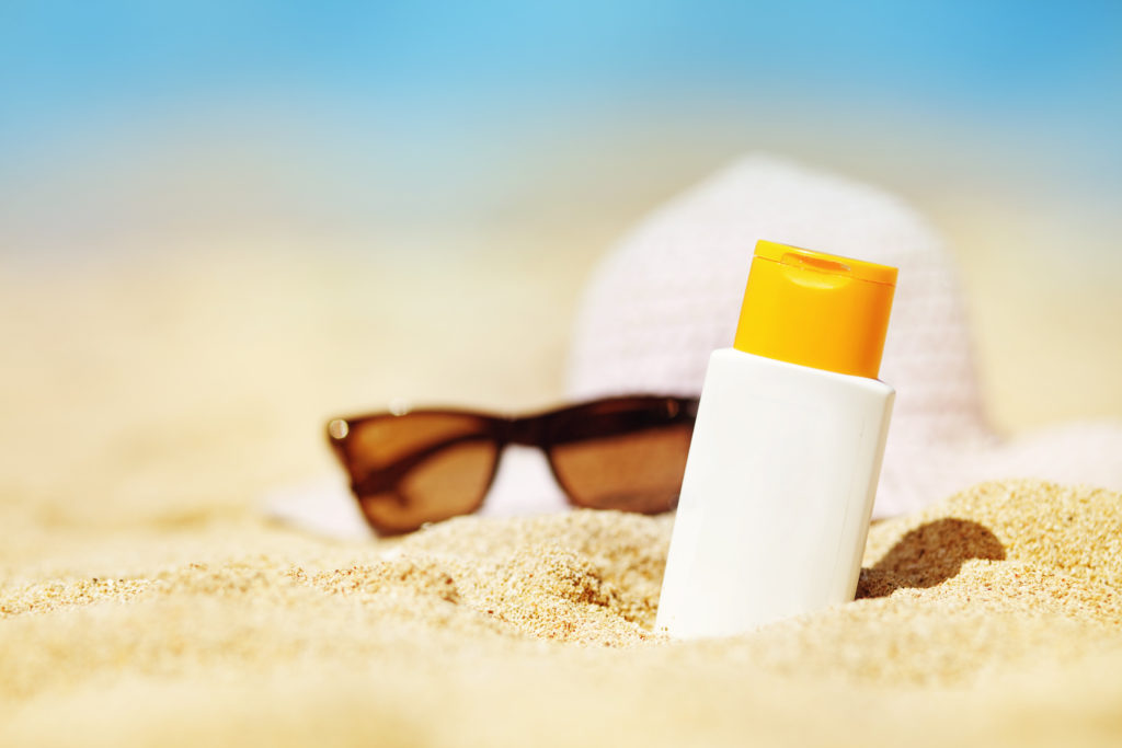 Travel Tip - Pack and wear sunscreen