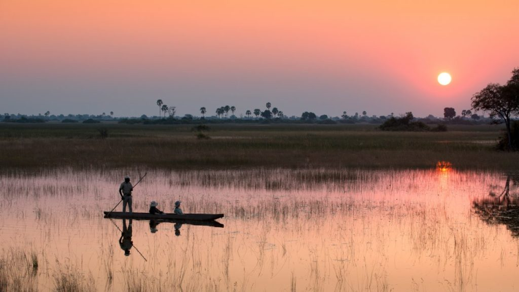 Visit Africa : Eye See Africa - mokoro Okanvango Delta