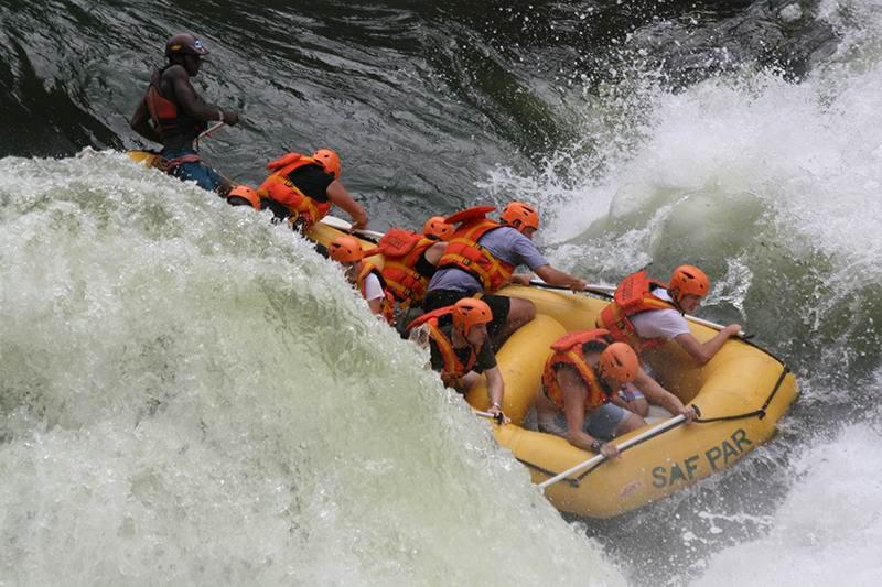 Eye See Africa - White Water Rafting