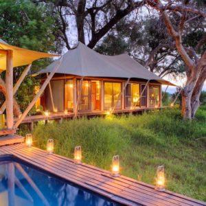 Xaranna-Okavango-Delta-Camp-Family-Tented-Suite-Private-Pool-Secluded-Space-Lanturns-Timbuktu-Travel